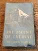 Lot 8. The Ascent of Everest   SOLD £85